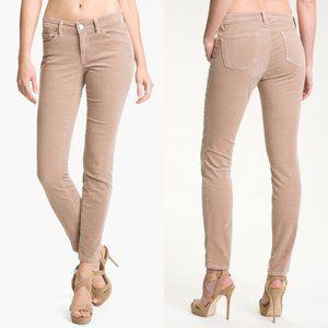 J Brand   Size 6 Brown Corduroy Skinny Leg Lioness